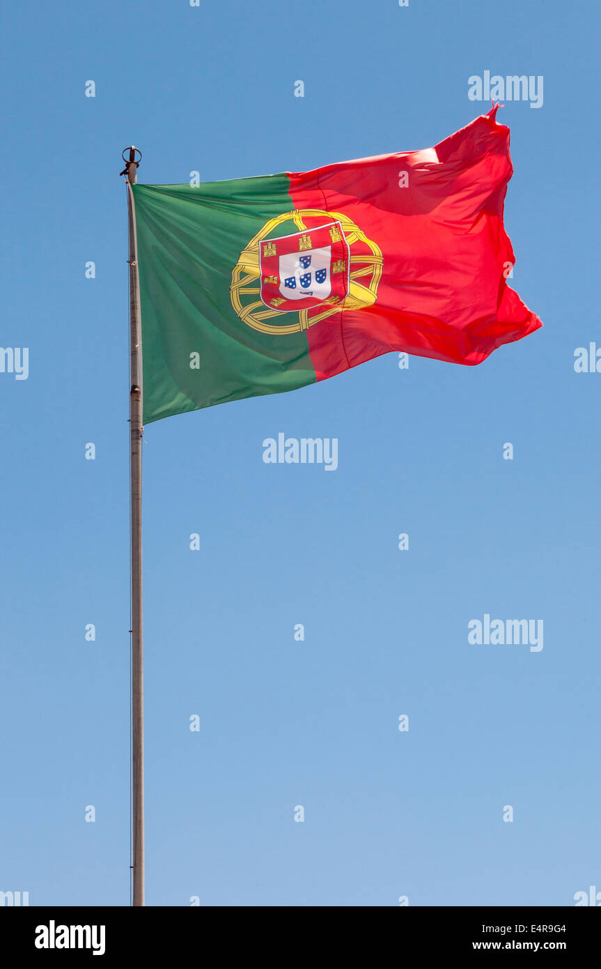 The Portugal Flag - Stock Image