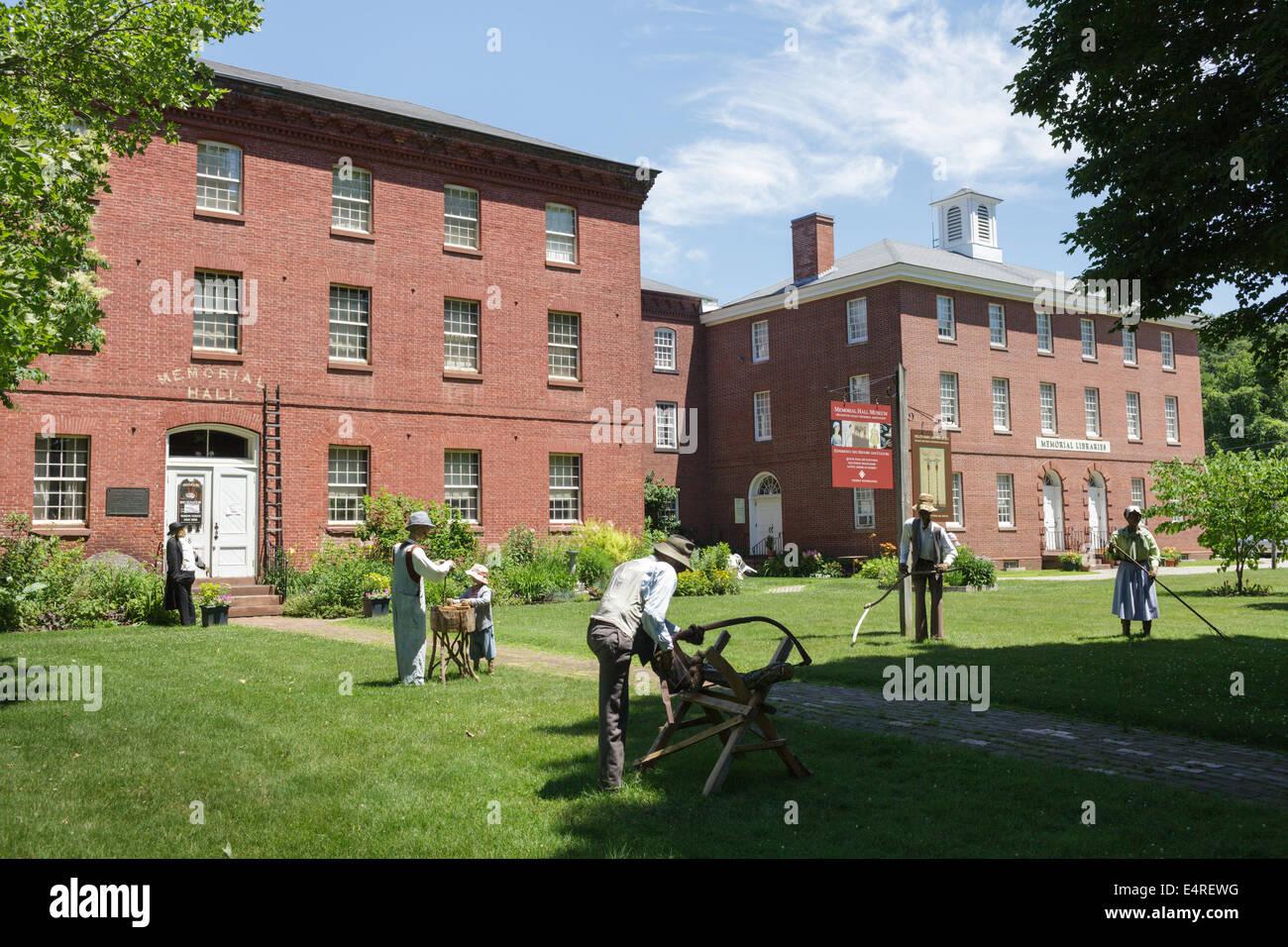 Foyer Museum Usa : North america usa massachusetts deerfield stock photos