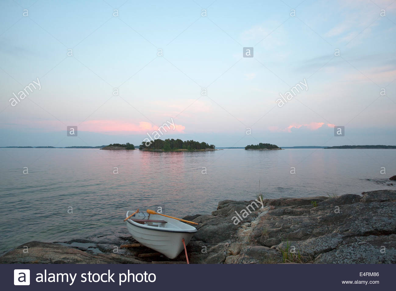 Tranquility in Finland - Stock Image