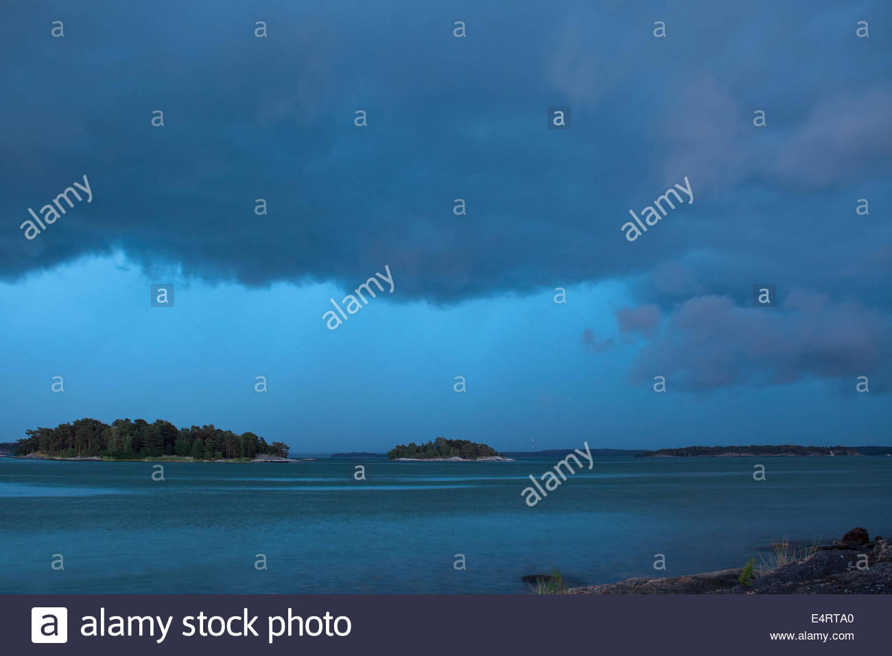 Thunder is coming - Stock Image