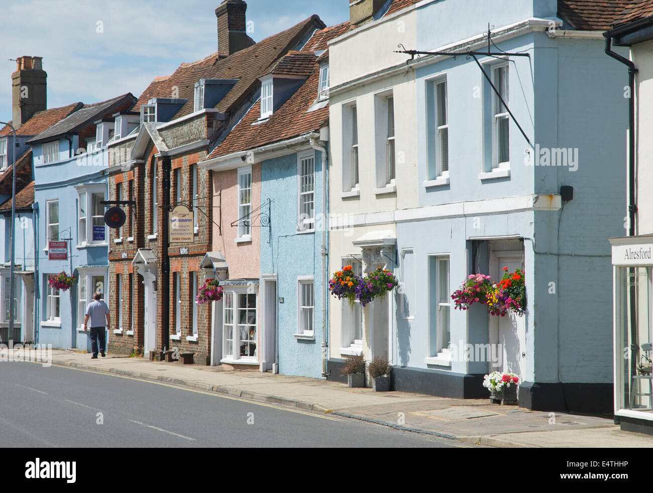 Alresford, Hampshire, England UK - Stock Image