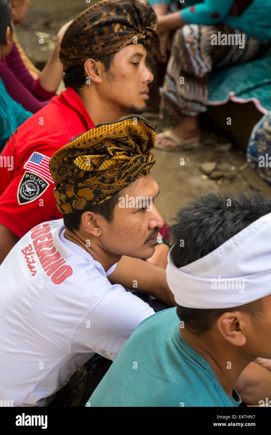 Balinese ceremony  Udeng bali