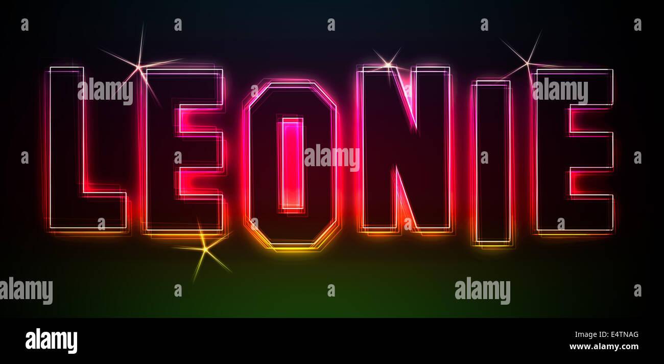 Leonie - Stock Image