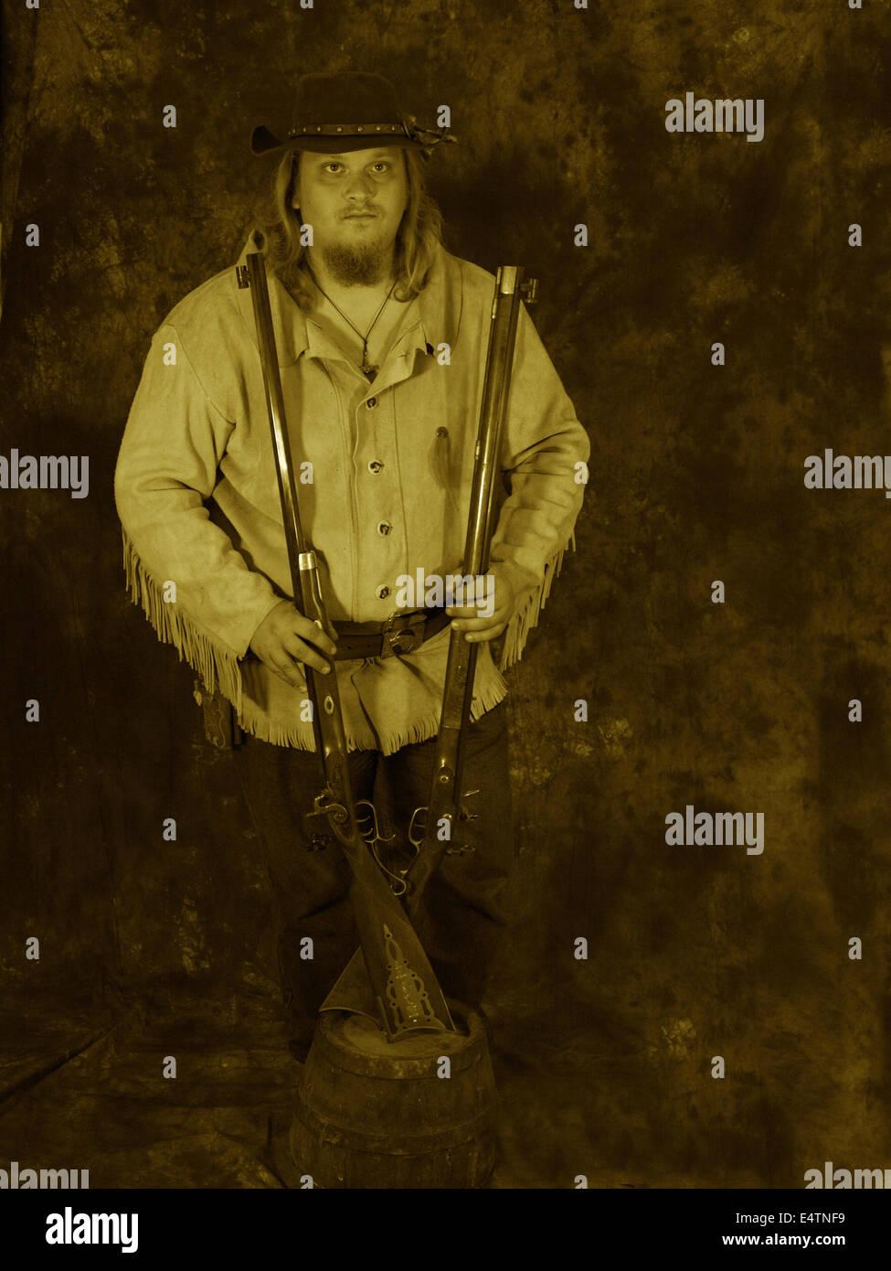 Rifleman 2 Stock Photo