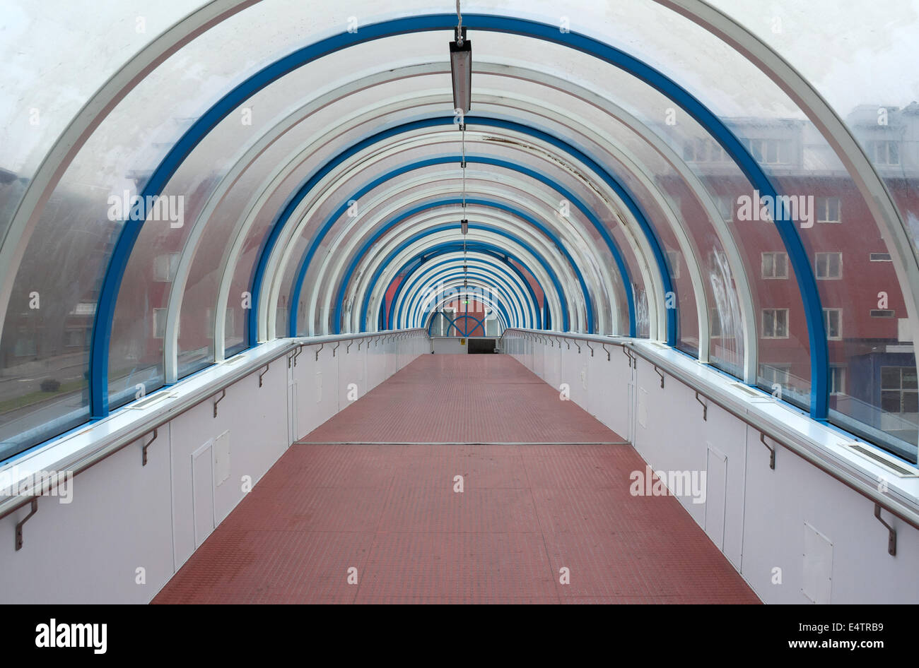 spacious business hall - Stock Image