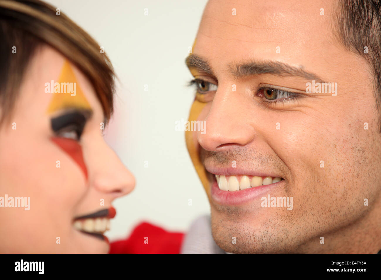 Loverly Spanish couple - Stock Image