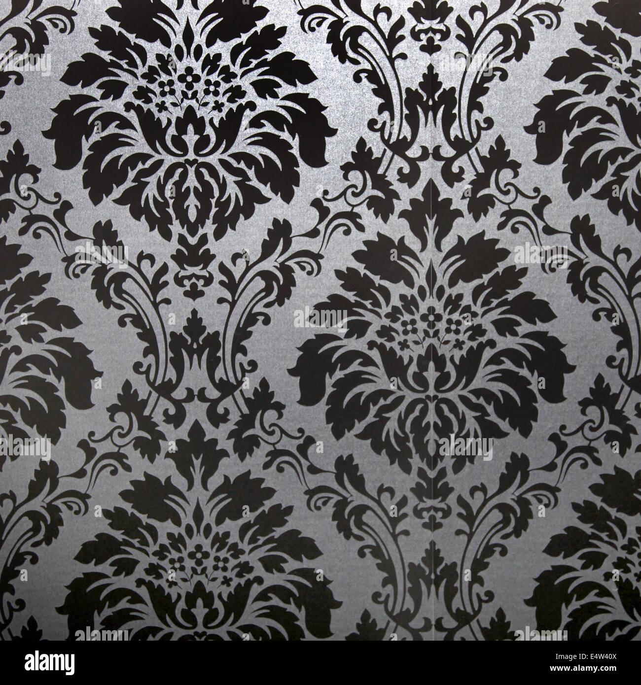 Vintage floral carpet design Stock Photo