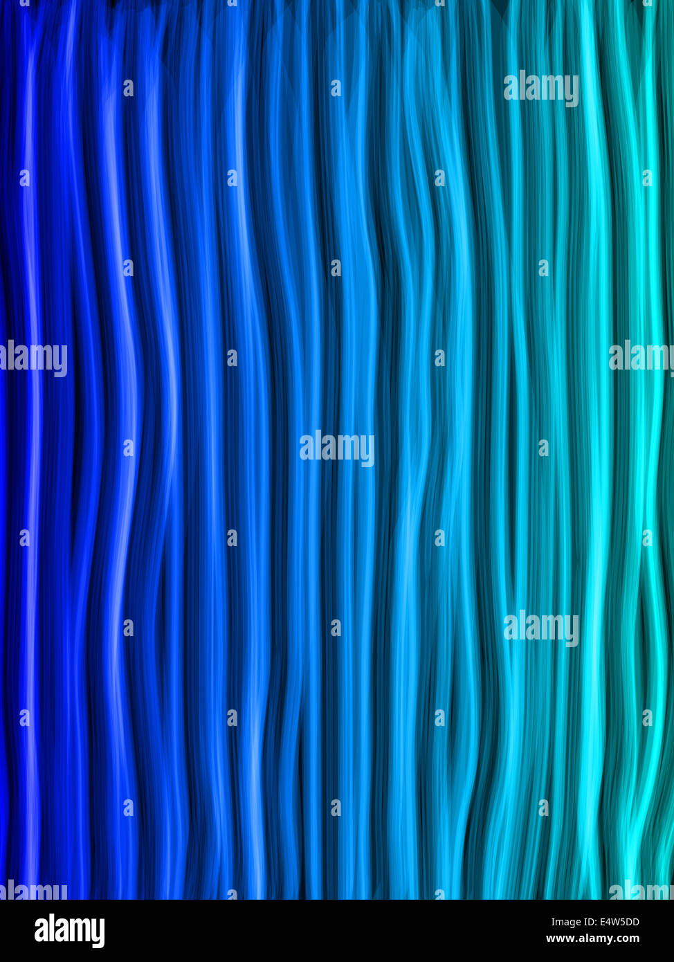 Abstract Blue Lines Background - Stock Image
