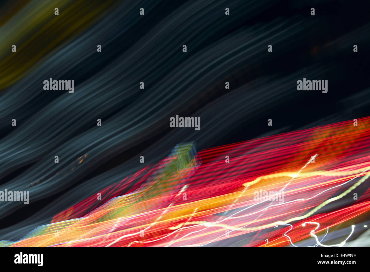 abstract background color stripes and stains - Stock Image