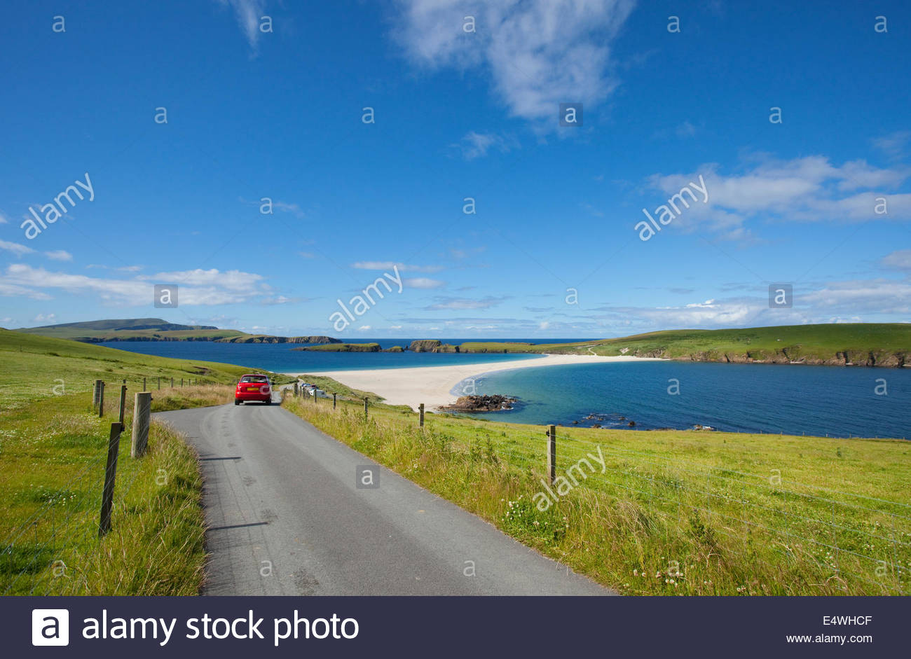St Ninian's Isle,  Mainland, Shetland, Scotland. - Stock Image