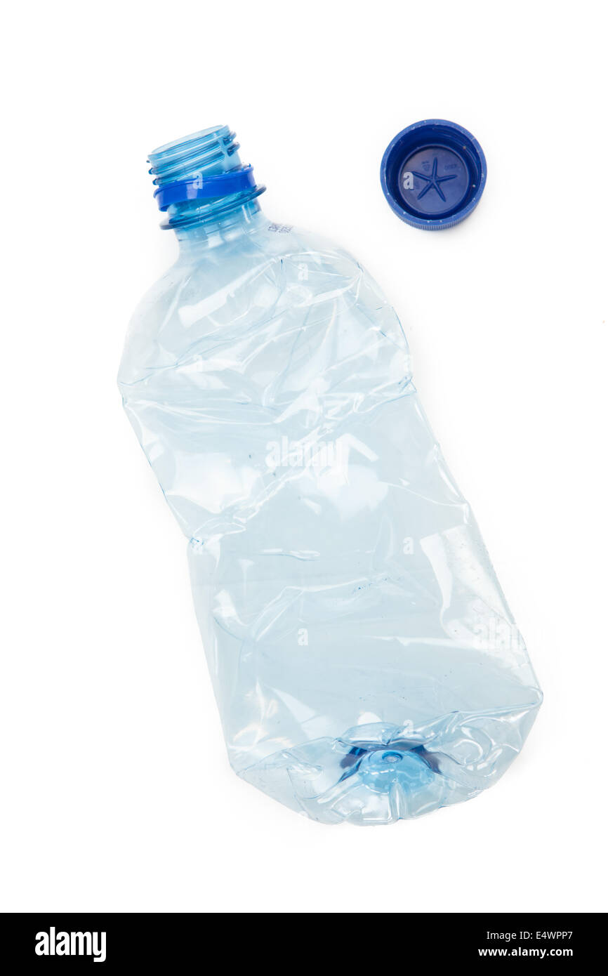 recyclable plastic bottle - Stock Image