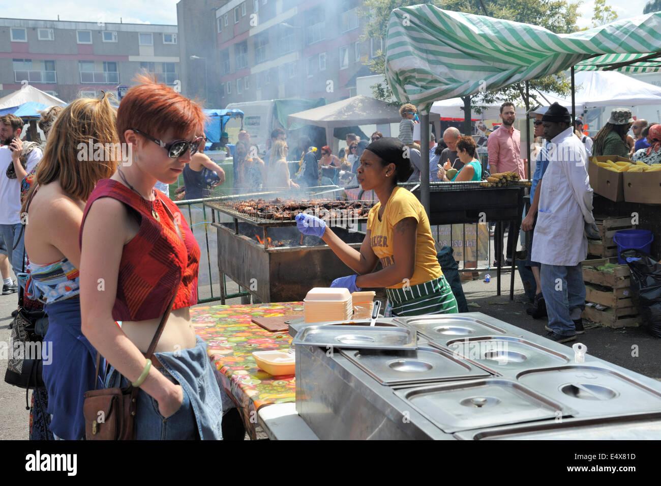 Indian Street Food At Edinburgh Festival  George Square