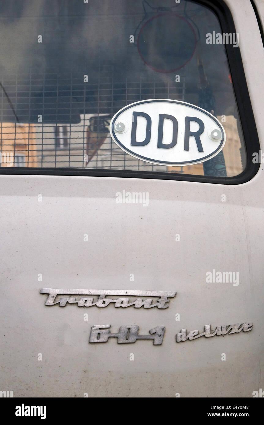 Car Trabant 601 de luxe - Stock Image
