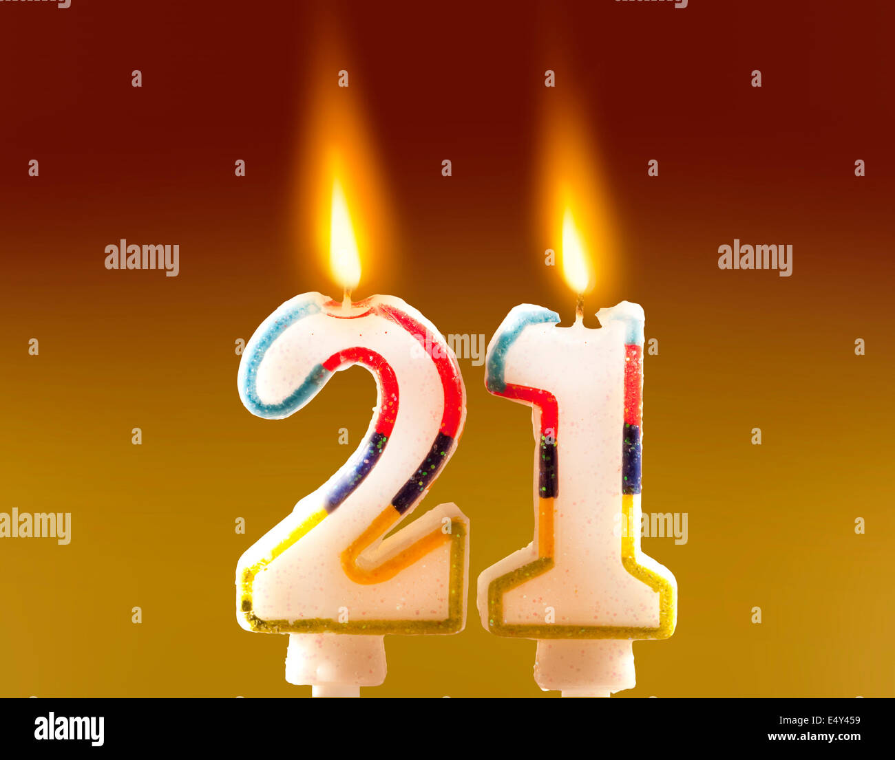 Birthday Candles Stock Photos Images