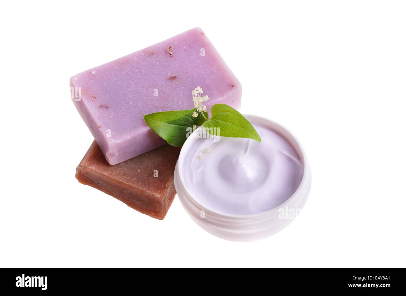 Natural treatment for bodycare - Stock Image