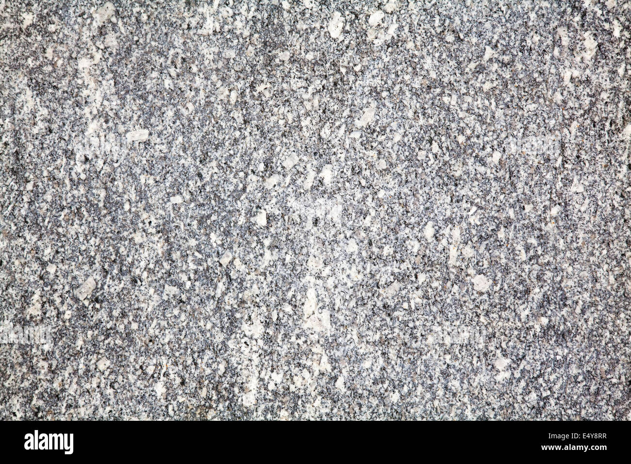 Grey marble grained texture close up - Stock Image