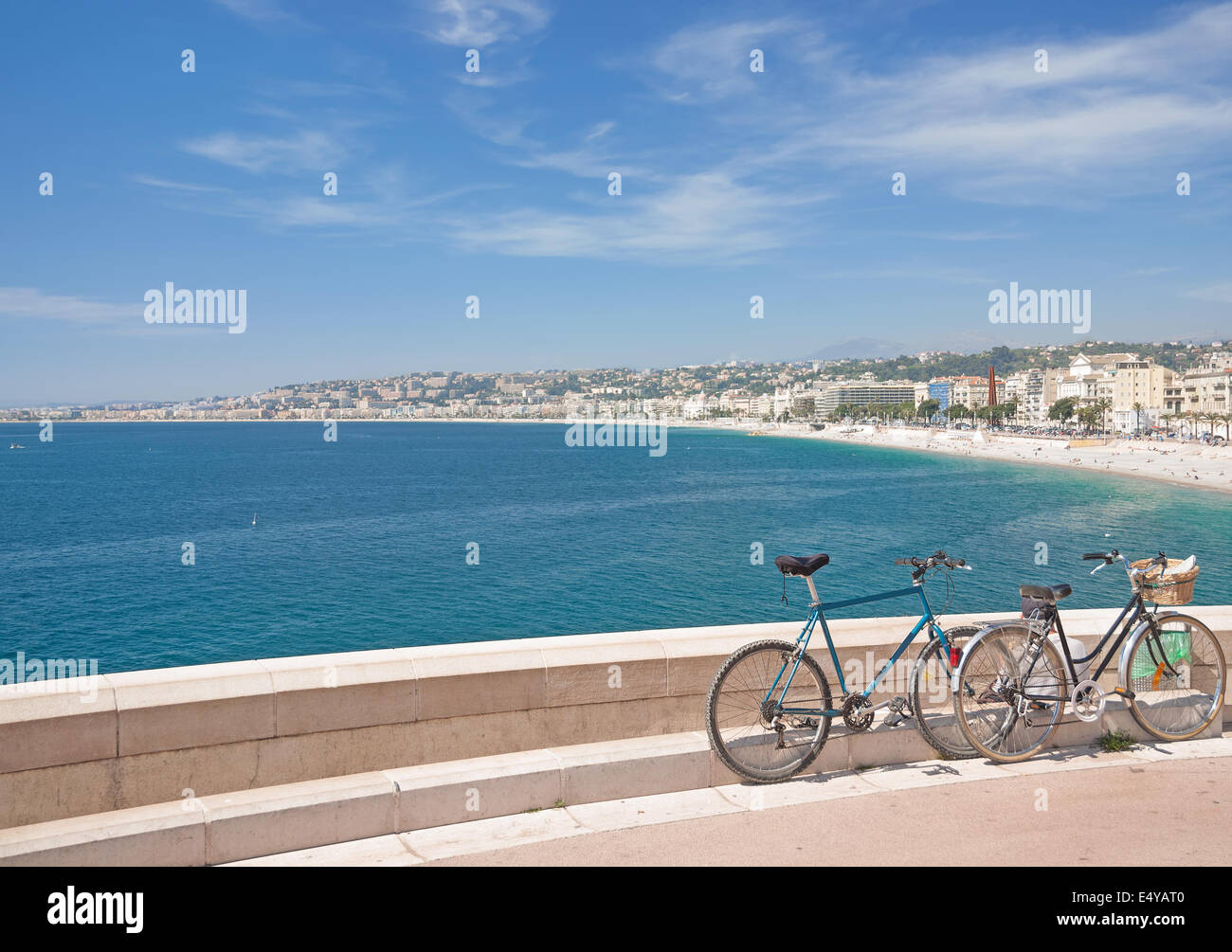 Nizza,french Riviera,South of France - Stock Image