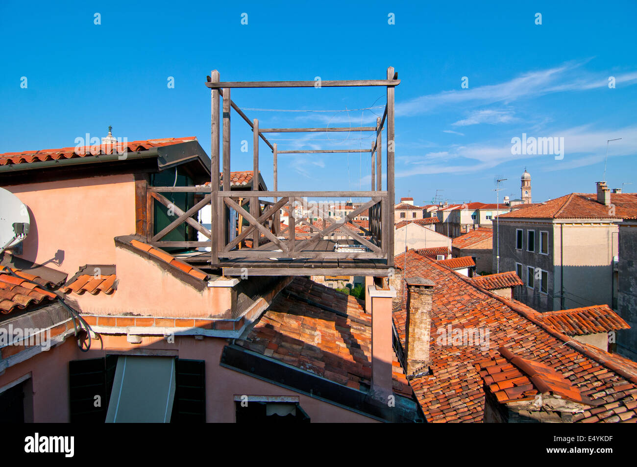 Venice Italy altana terrace Stock Photo: 71908075 - Alamy