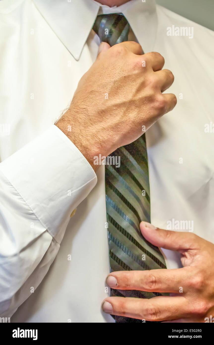 Tie with to a wrists necktie how 13 Bondage