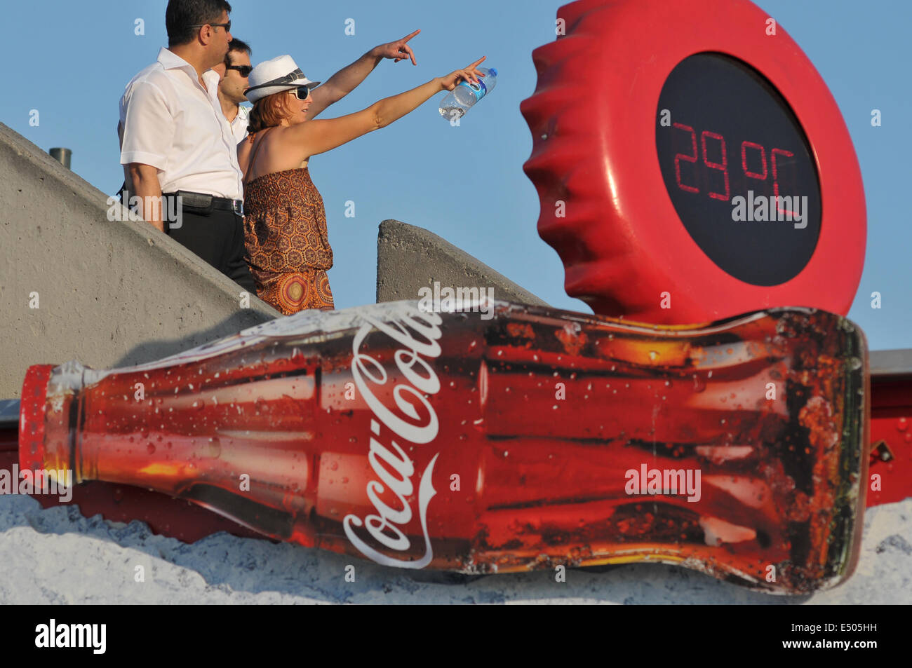 Coca Cola Advertisement Stock Photos & Coca Cola