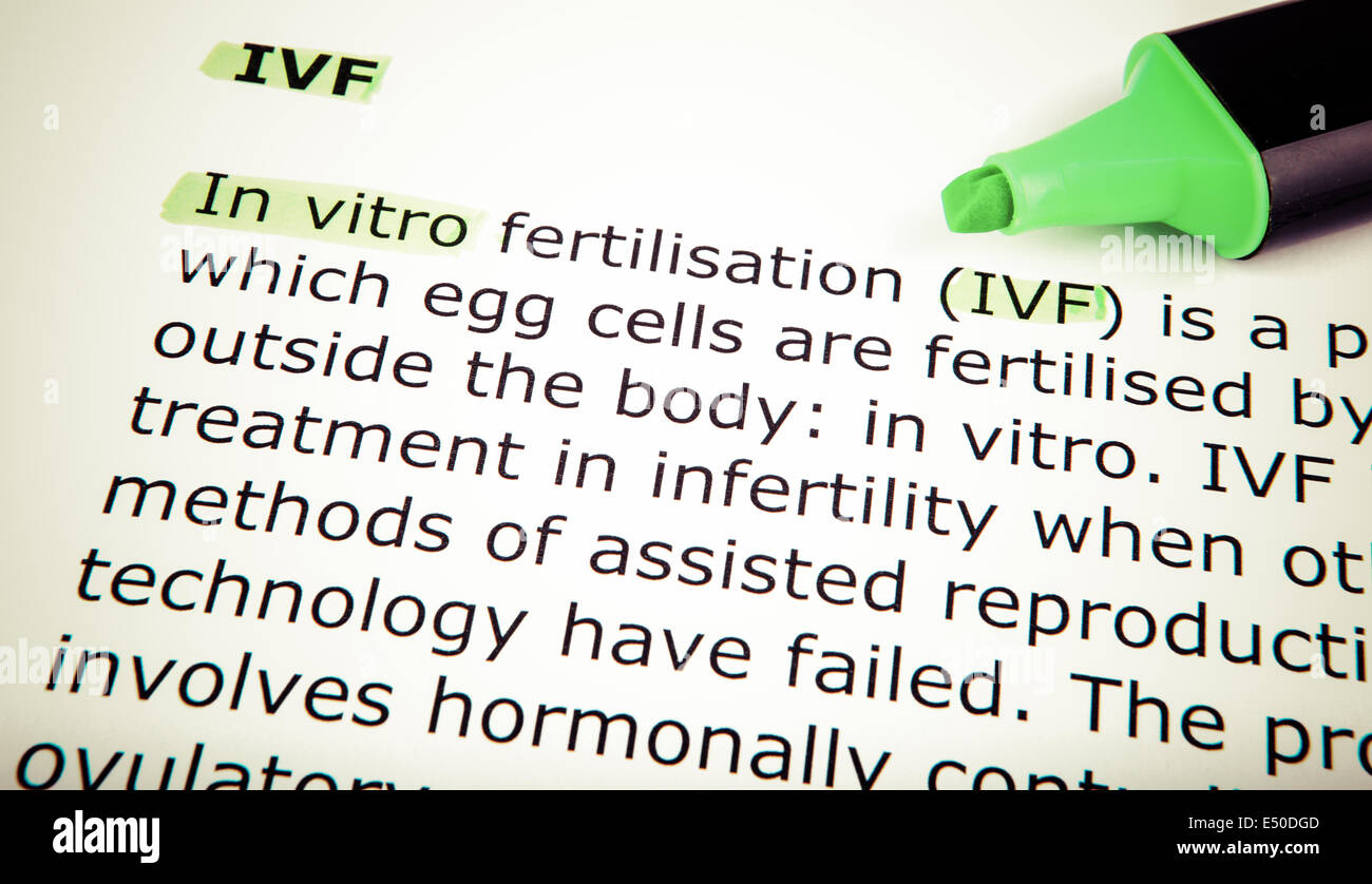 In vitro - Stock Image