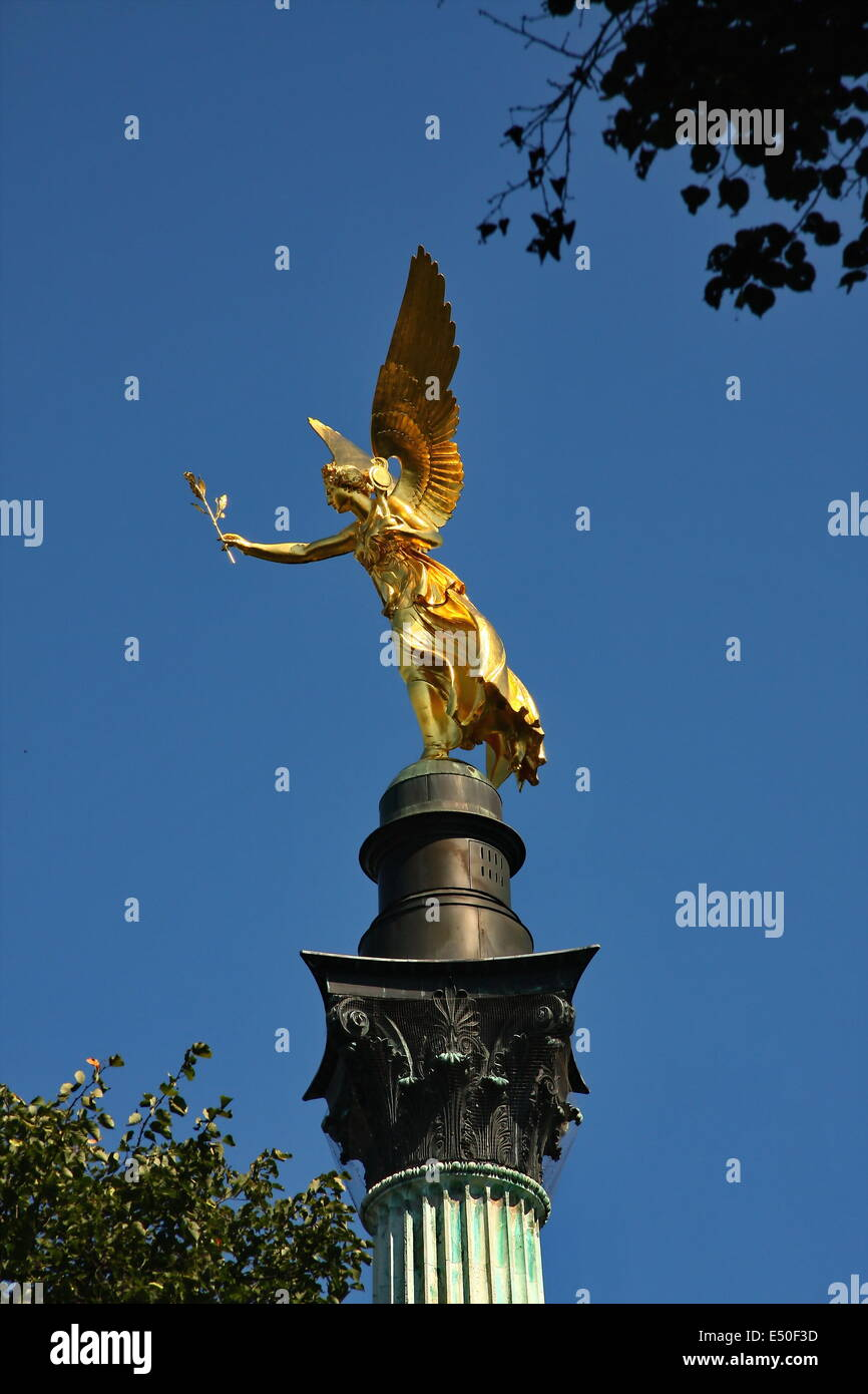 Friedensengel Angel of Peace Stock Photo