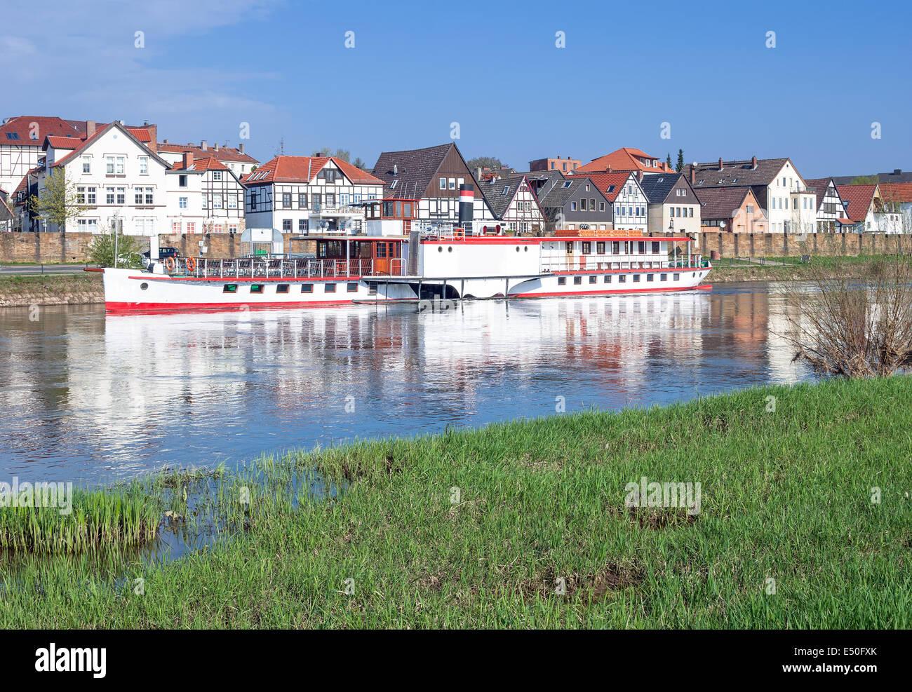 Minden ,Weserbergland,Germany - Stock Image