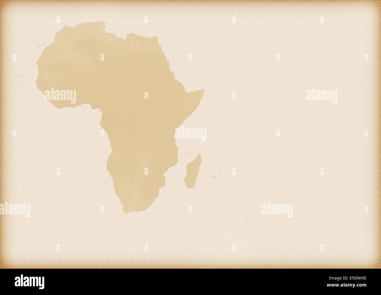 Old map of Africa as a background Stock Photo: 71930921 - Alamy Old Map Background on