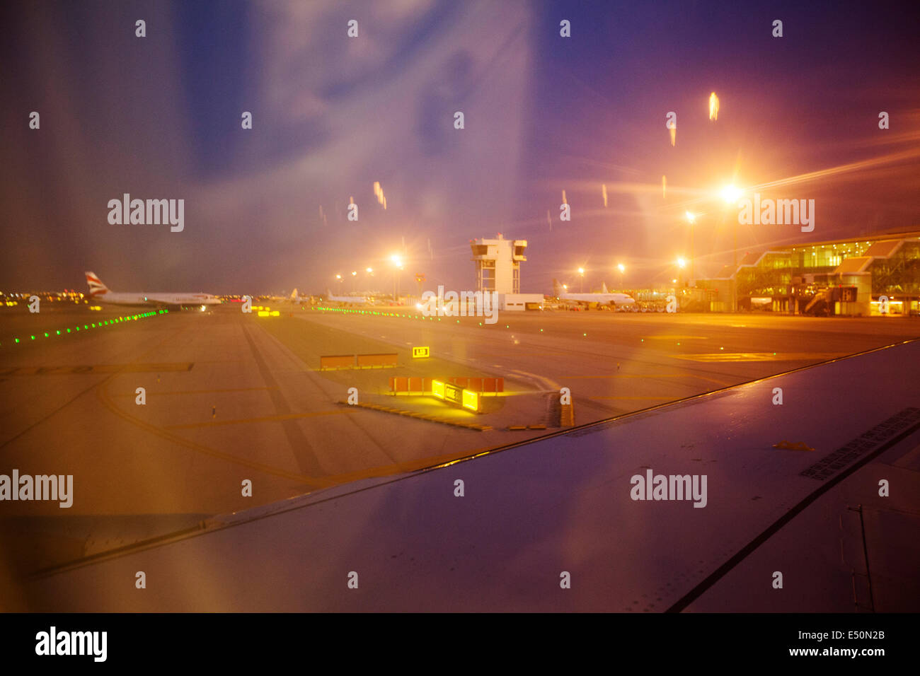 Barcelona El Prat Airport Cataluña Spain España aeropuerto - Stock Image