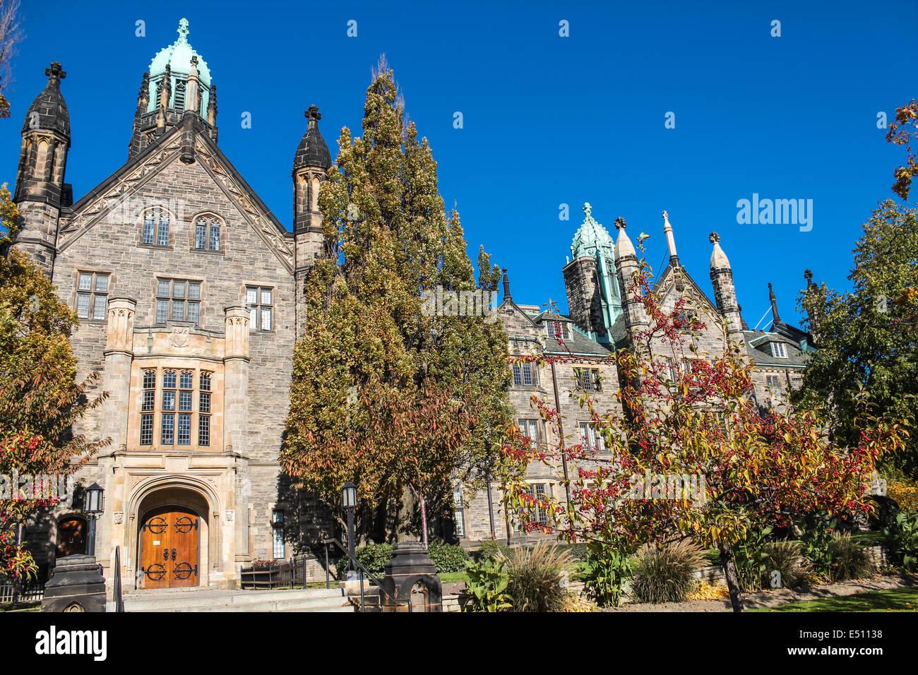 Trinity College at University of Toronto - Stock Image
