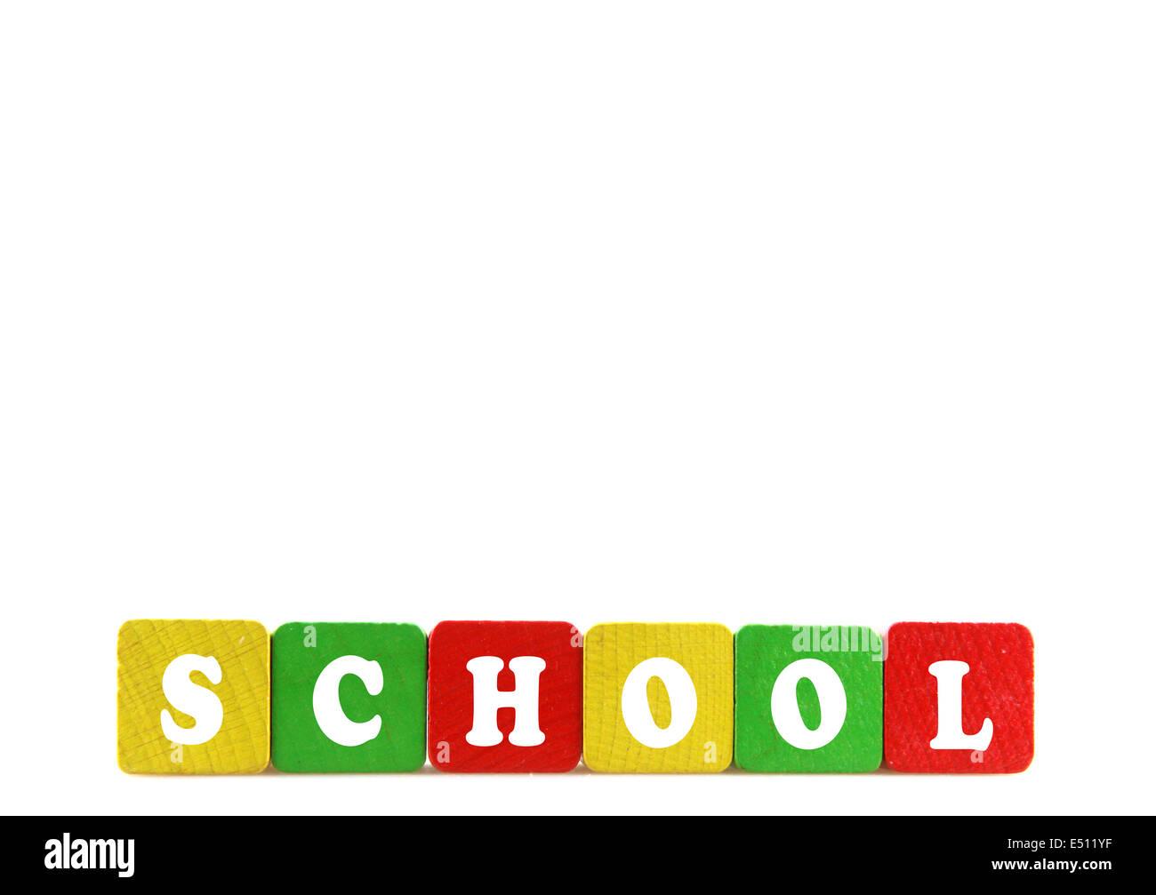 school concept - Stock Image