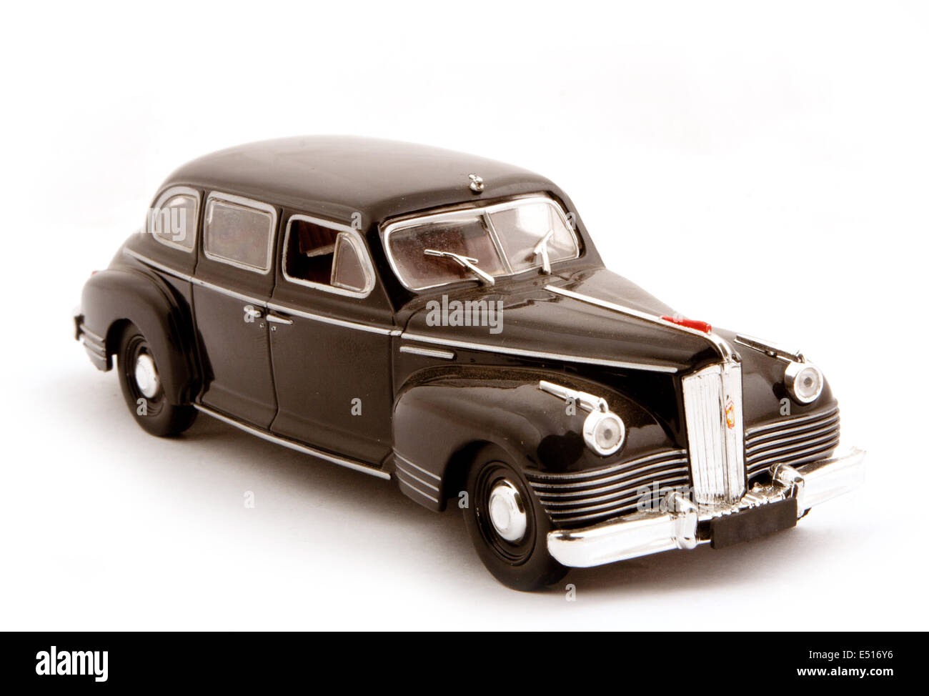 Collection scale car model - Stock Image