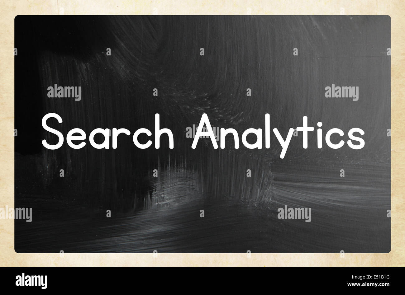 search analytics concept - Stock Image