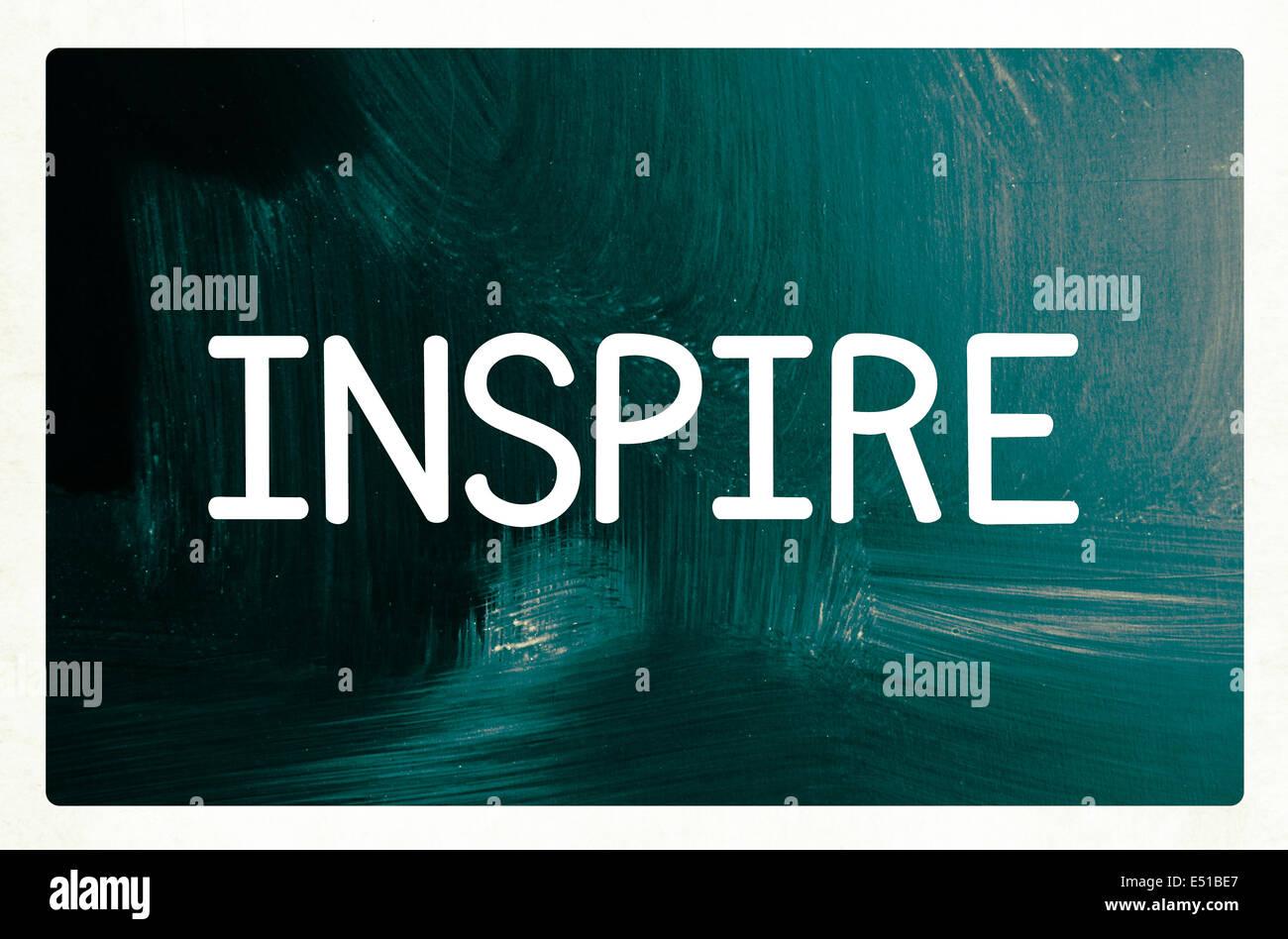 inspire concept - Stock Image