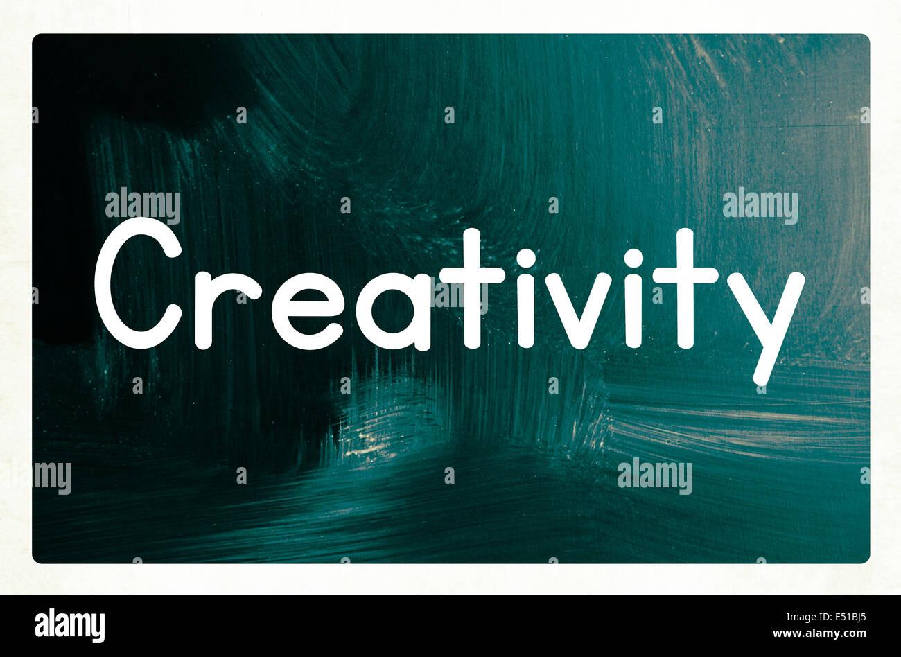 creativity concept - Stock Image