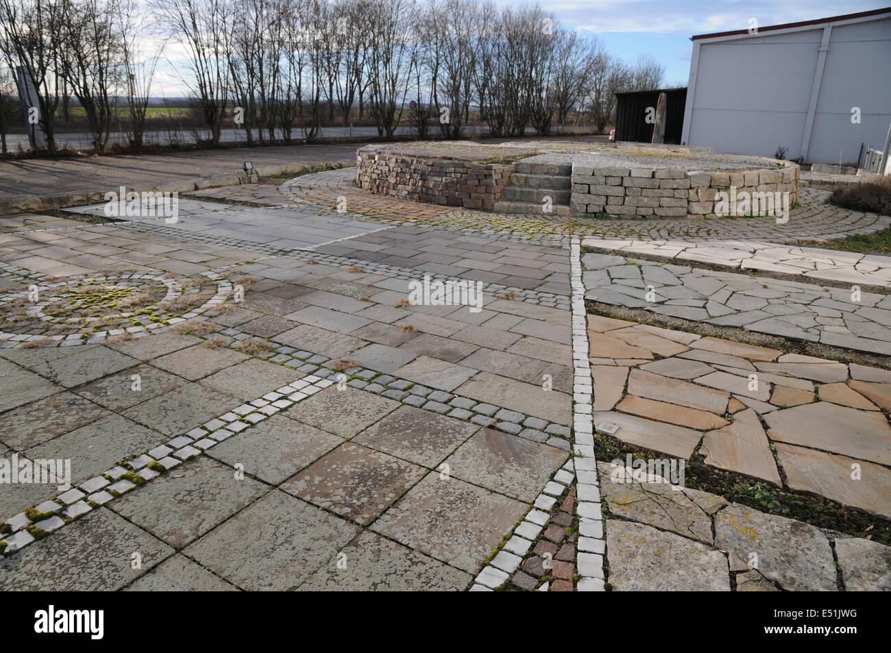 Pavements - Stock Image