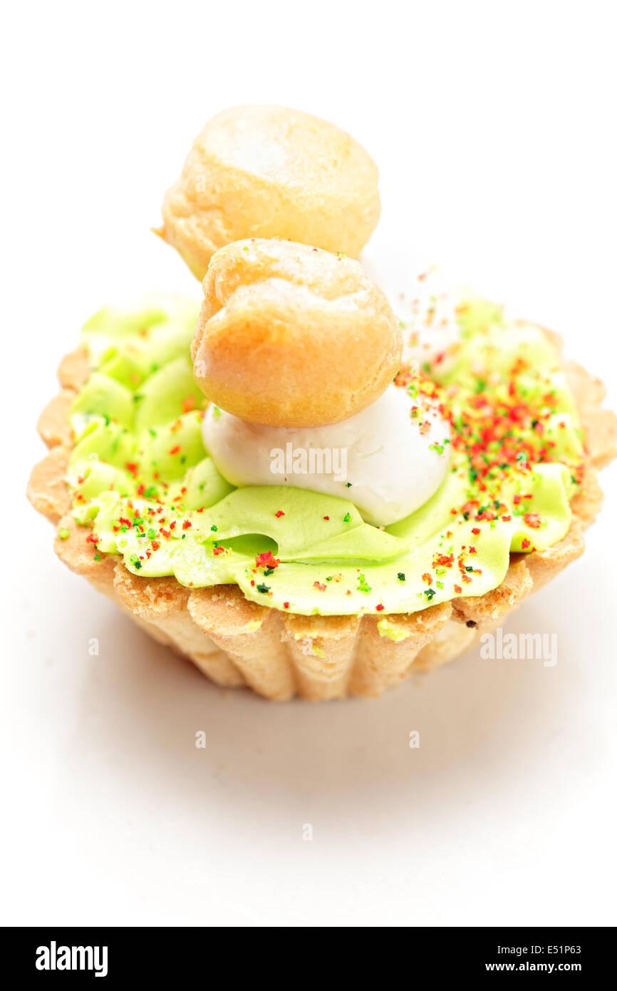 Shortcrust cake - Stock Image