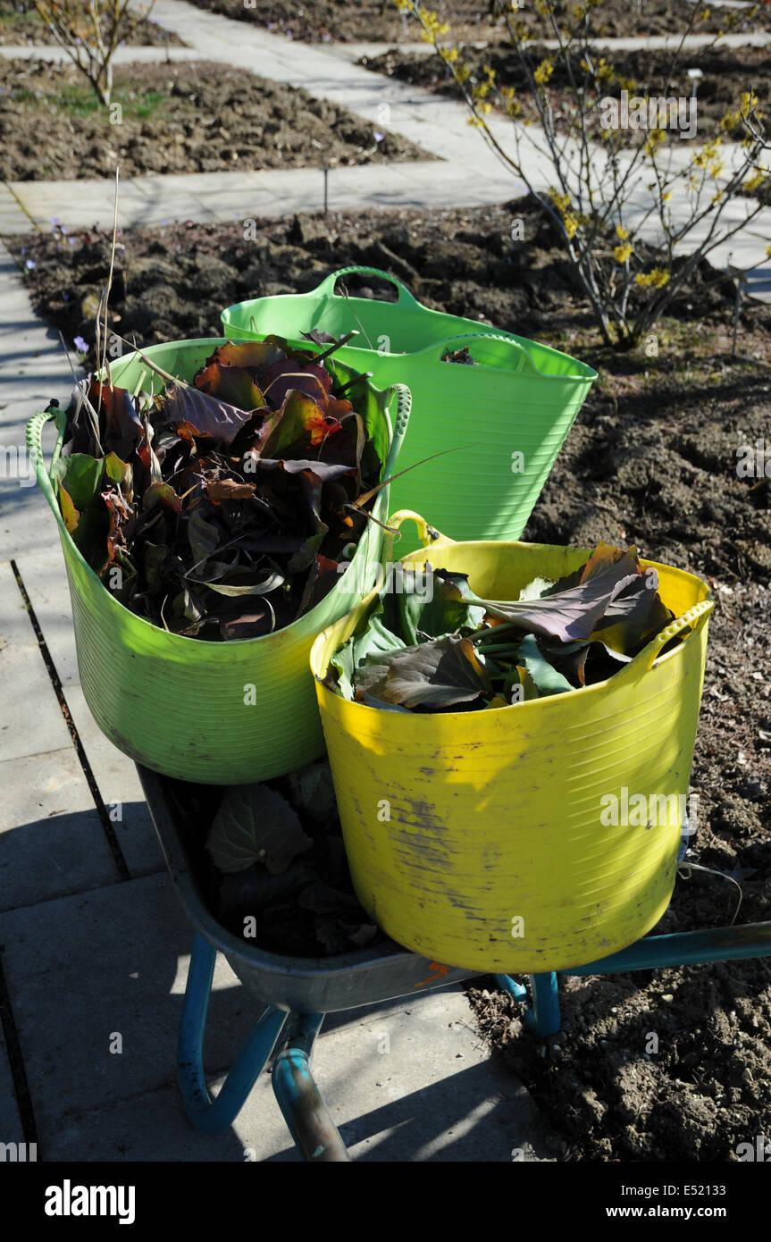 Garten-wastes - Stock Image