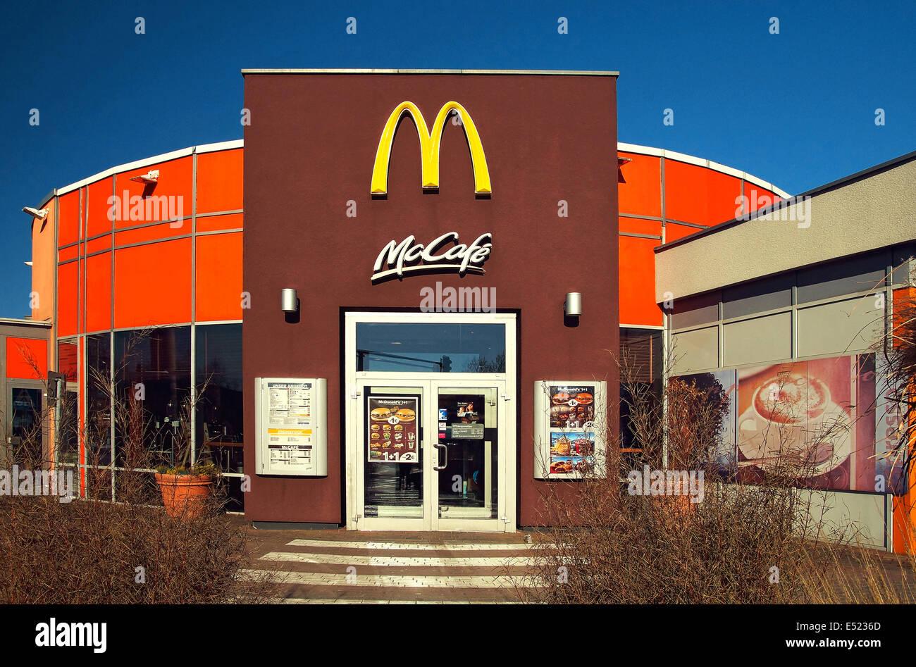 McDonalds subsidiary - Stock Image