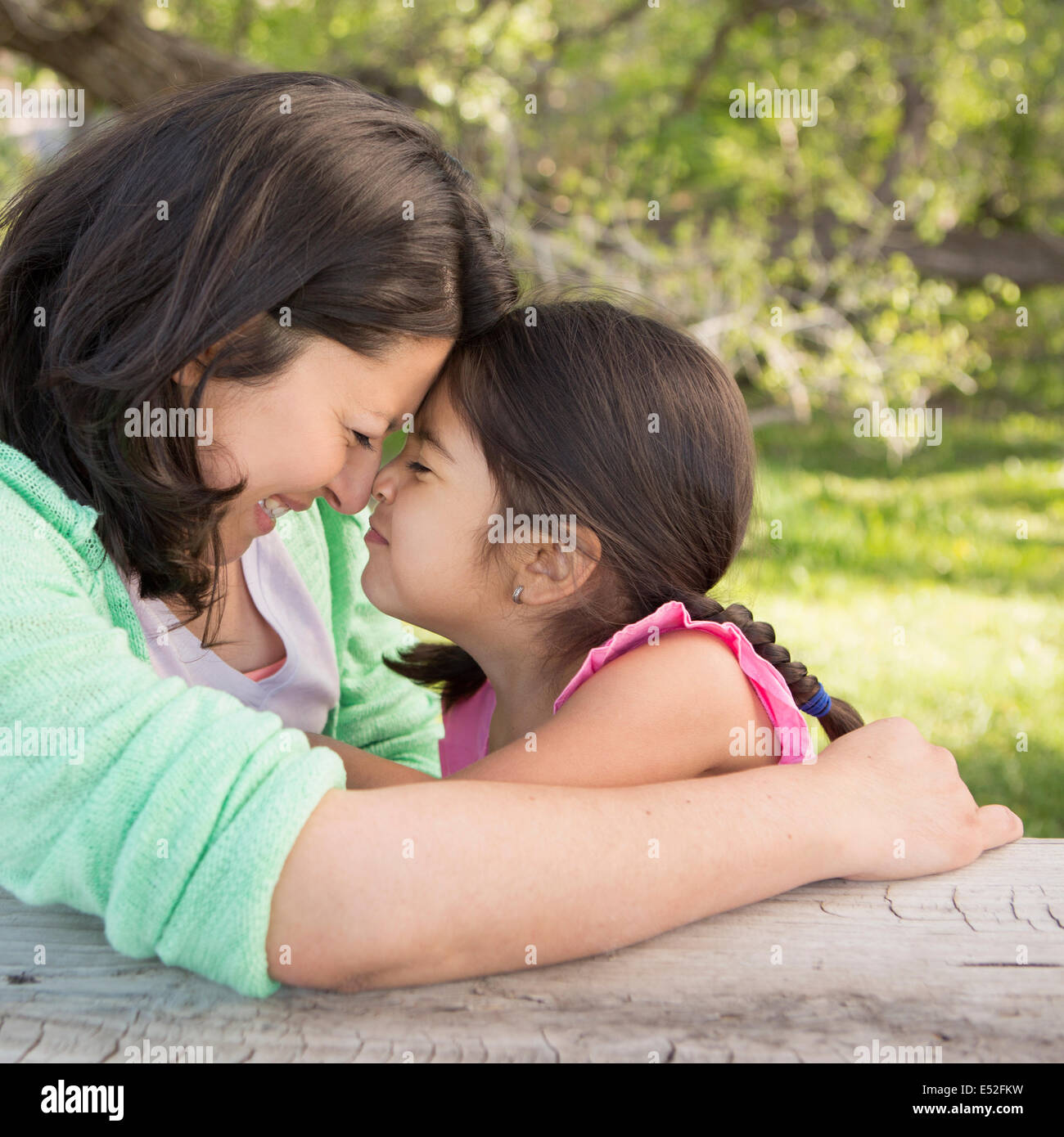 mother daughter kissing other stock photos mother daughter kissing