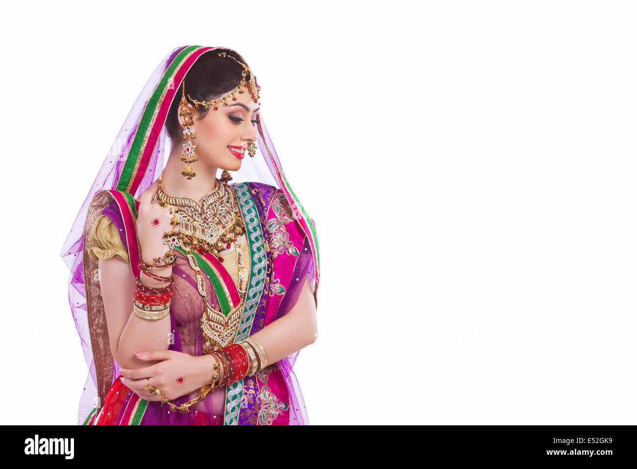 Indian Wedding Cut Out Stock Images & Pictures - Alamy