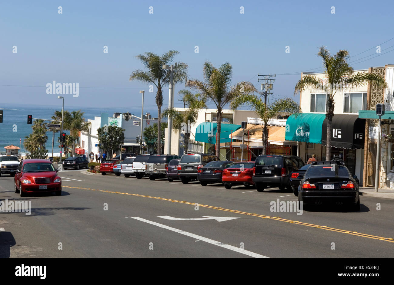Manhattan Beach , CA - Stock Image