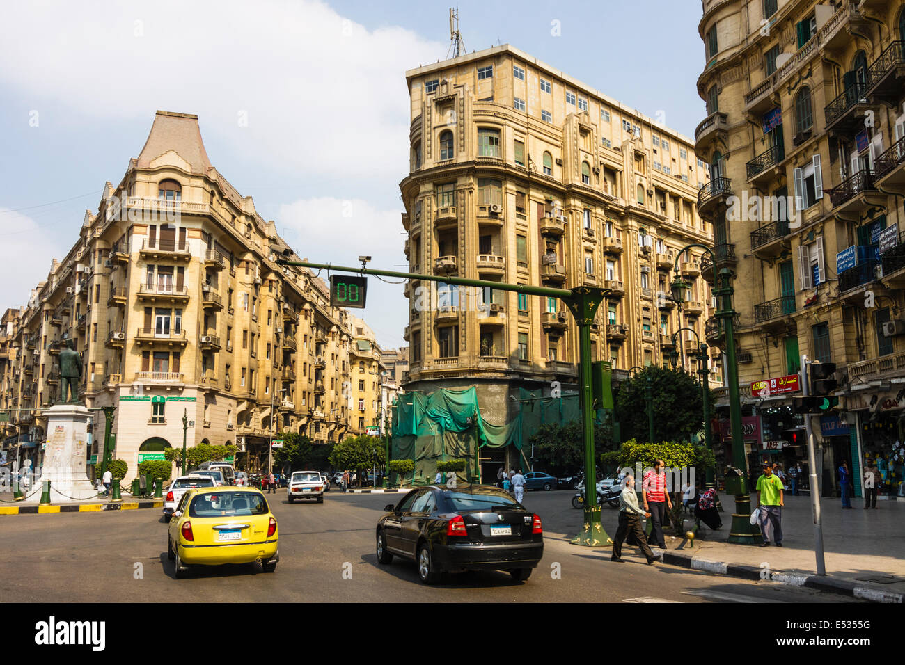 talaat harb square stock photos talaat harb square stock images