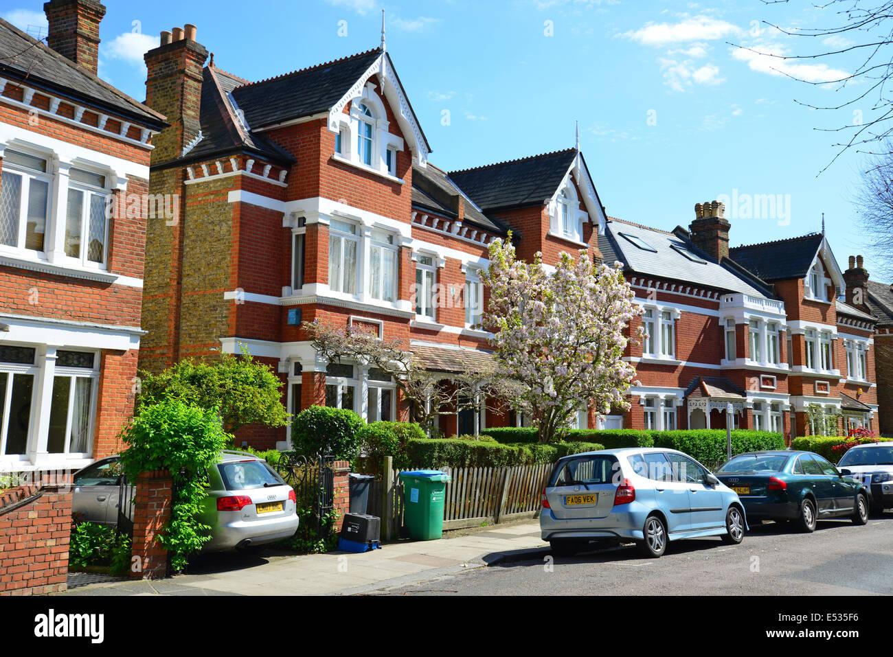 terraced houses lebanon park twickenham london borough of rh alamy com