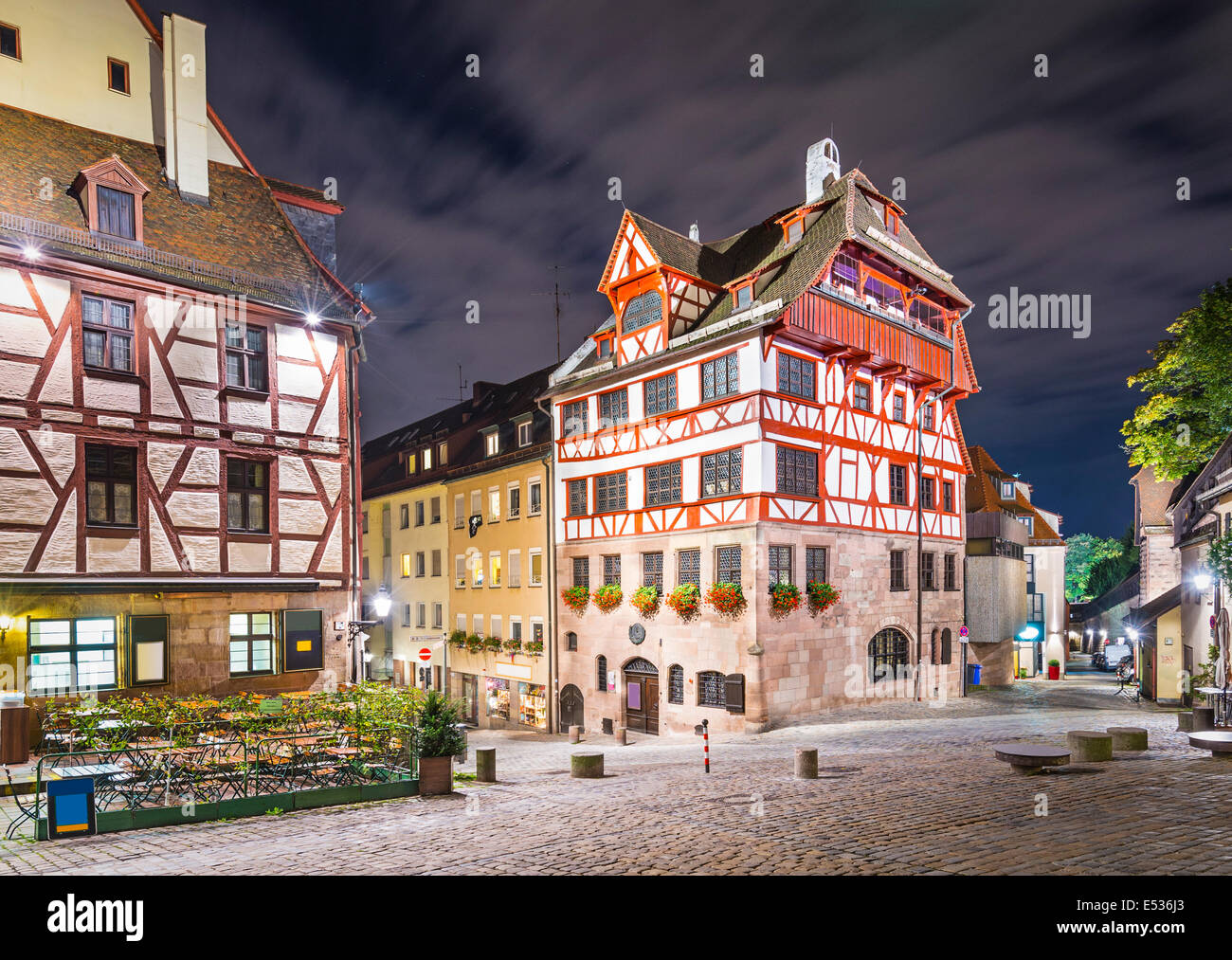 Nuremberg, Germany at Albrecht Durer house. - Stock Image