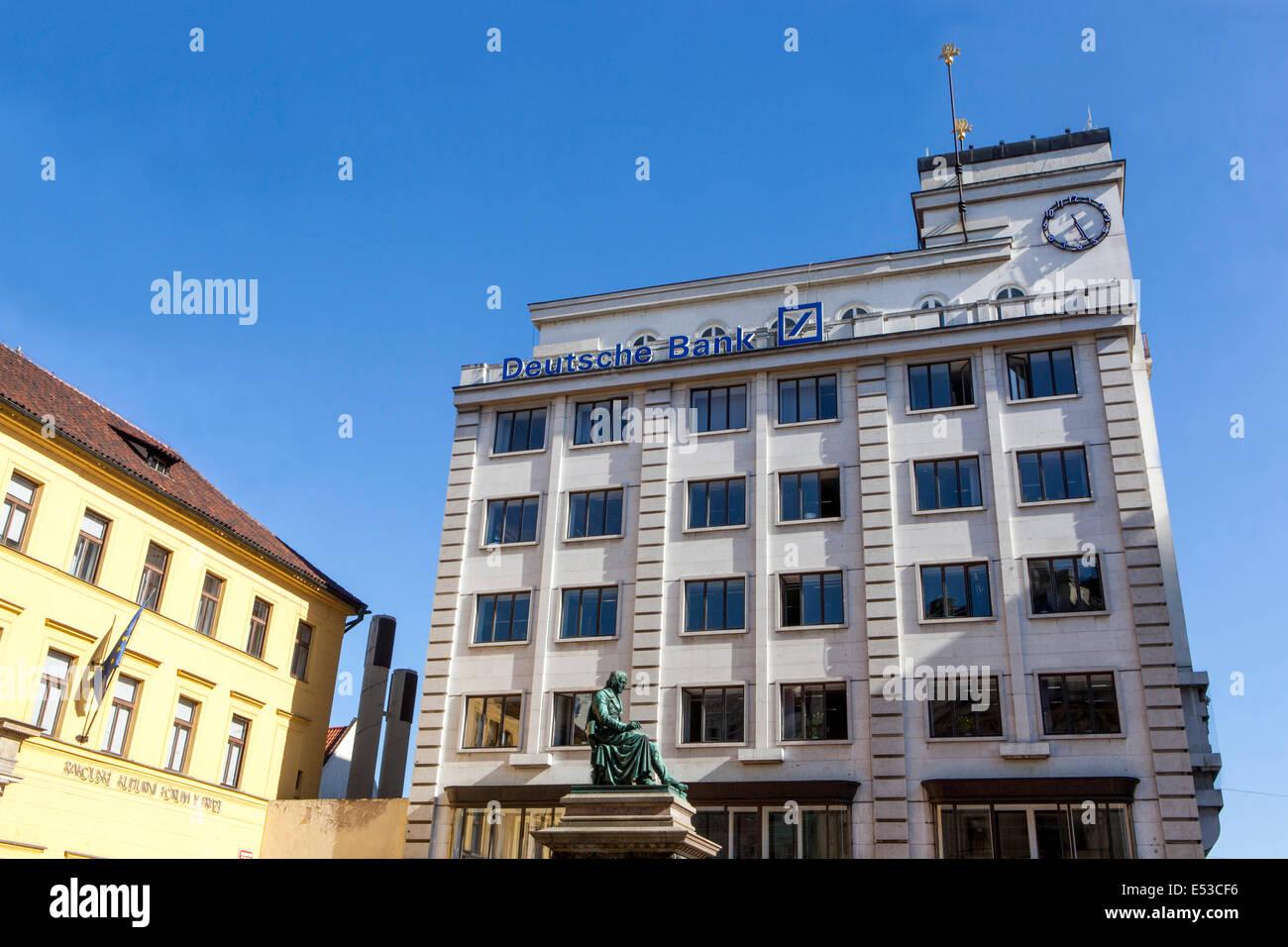 Deutsche Bank Prague Atm