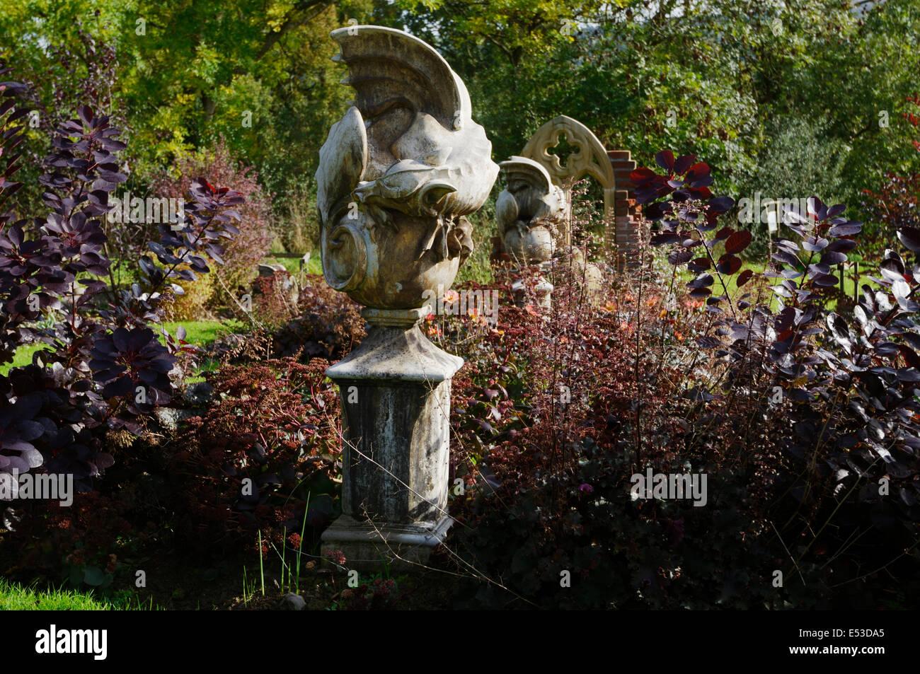 Ordinaire The Gothic Garden At Sculptureheaven Sculpture Garden, Rhydlewis,  Llandysul, Wales, UK.