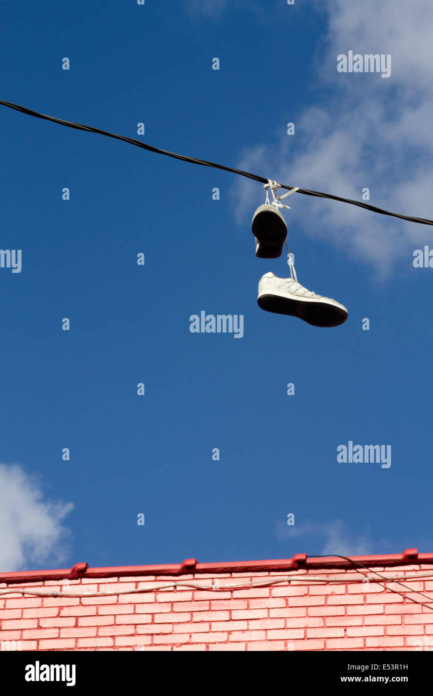 Tied Shoelaces Stock Photos & Tied Shoelaces Stock Images - Alamy