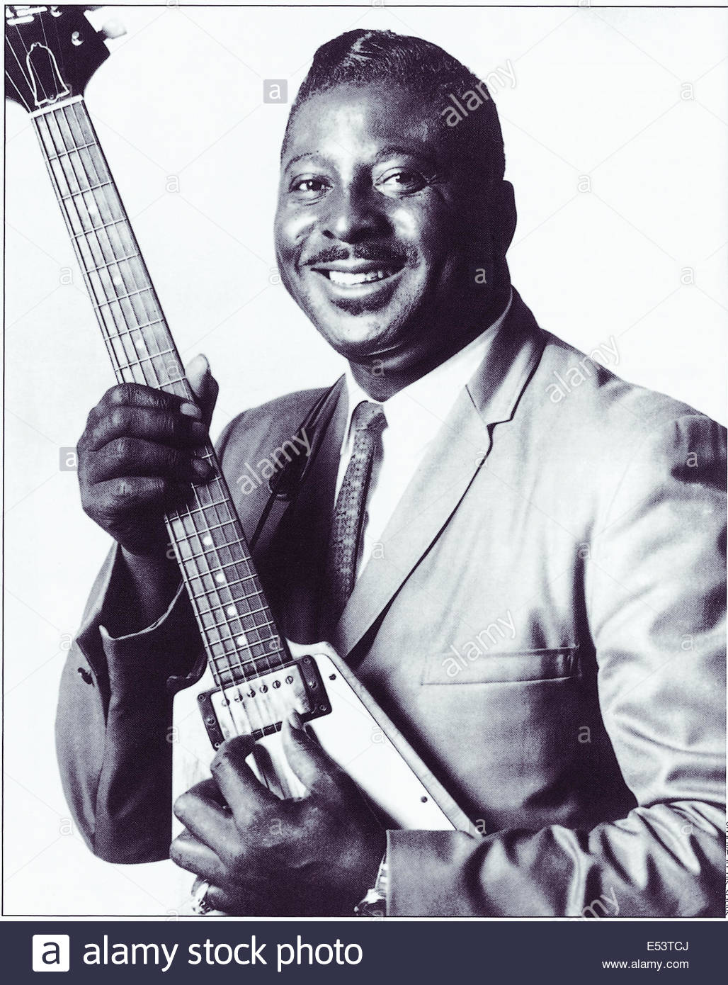 Albert King (1923 Ð 1992) American blues guitarist and singer.  Courtesy Granamour Weems Collection.  Editorial - Stock Image