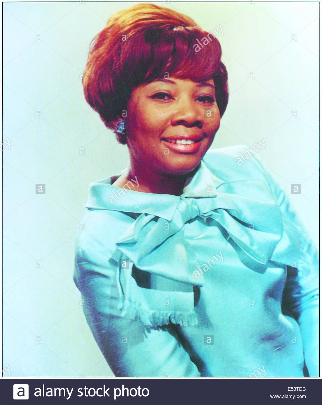 MABLE JOHN - American blues vocalist circa 1960s.  Courtesy Granamour Weems Collection.  Editorial use only. - Stock Image